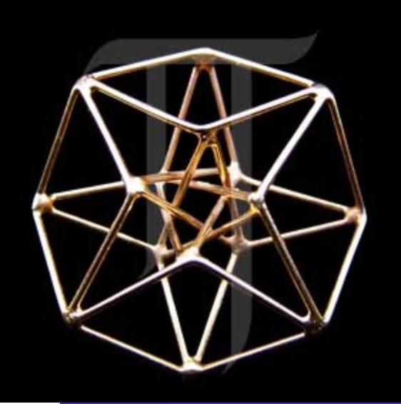 hyper cube  {silver]