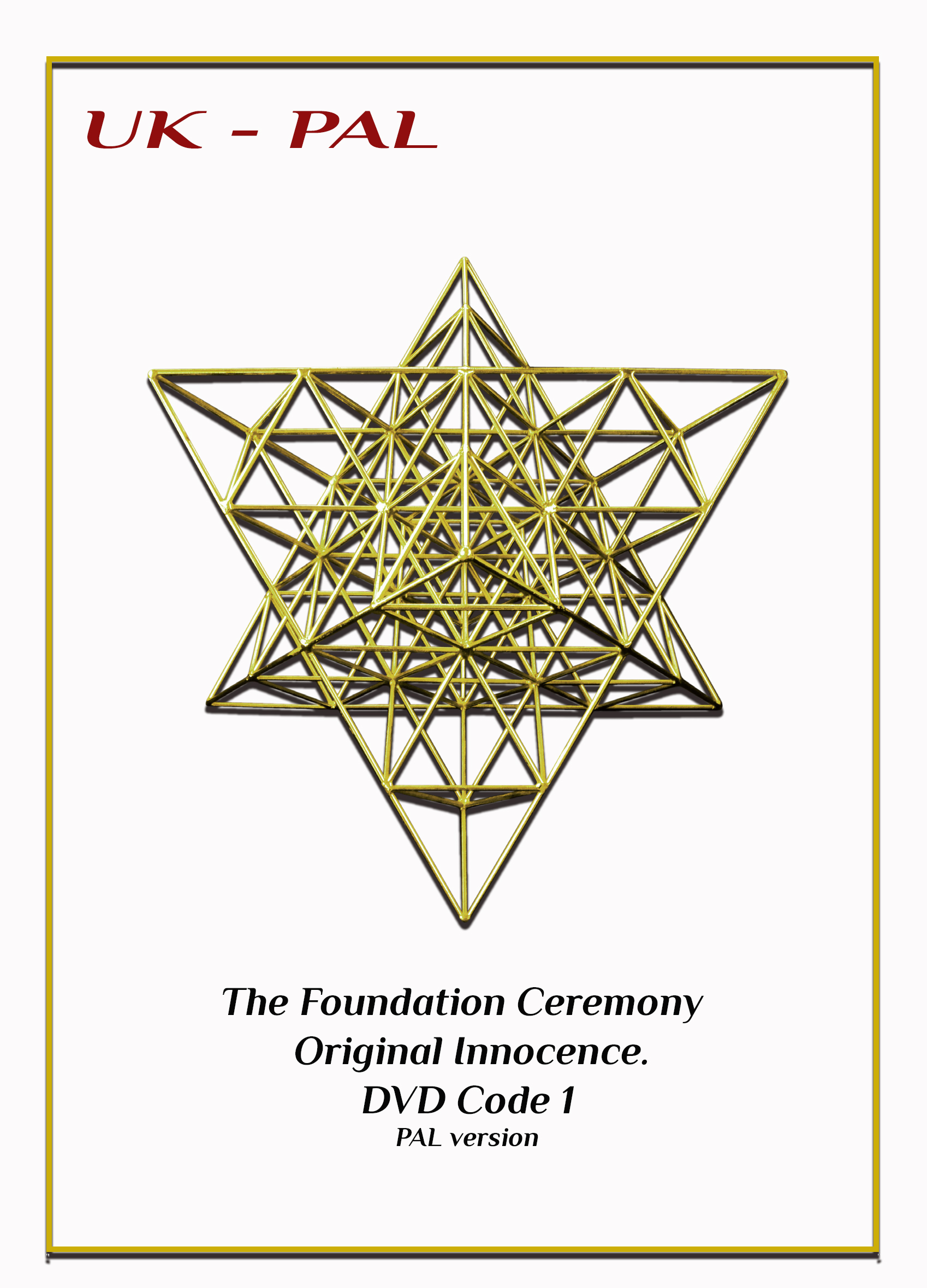 UK -The Foundation Ceremony
