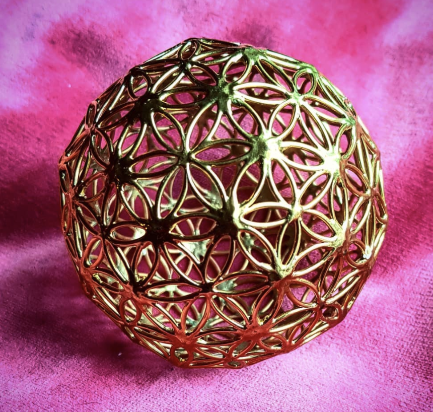 Earth Resonance Sphere. BRASS